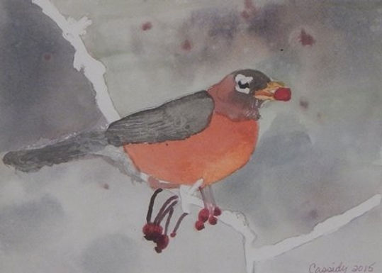 Catch a Robin by Debra Cassidy