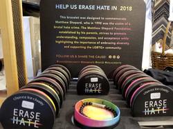 Erase Hate Bracelets