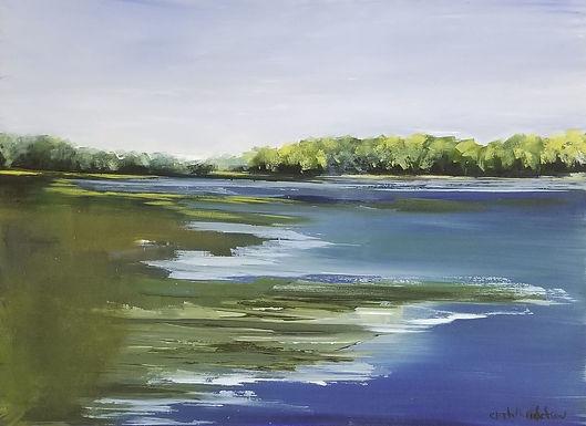 Maine Marsh by Elizabeth Ricketson
