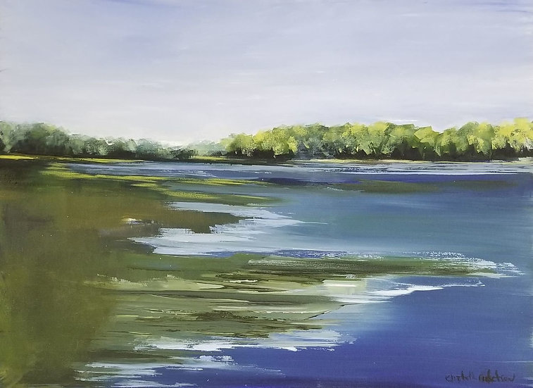 Maine Marsh by Elizabeth Ricketson