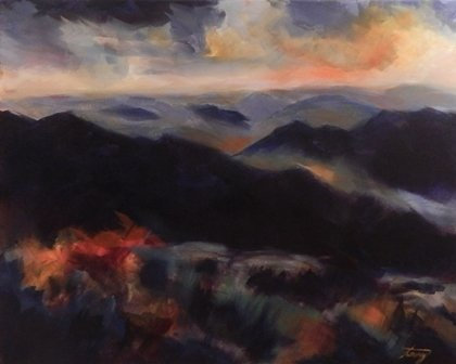 Mountain Mist by Terry Kessel Myers Coney