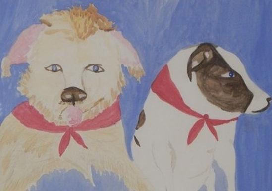 Jonie and Toby by Debra Cassidy