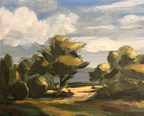 River Valley Landscape Series 1 by Bob Collins