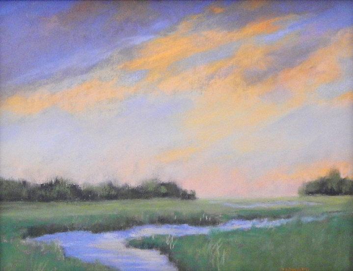 Summer Estuary by Dina Gardner