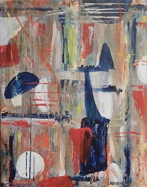 Abstract 15 by Lois Novotny