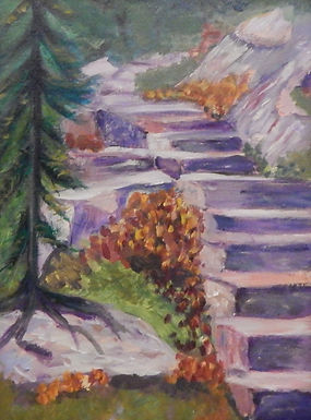 Country Steps by Carolyn Lee