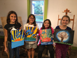 Kids Paint Party Painting