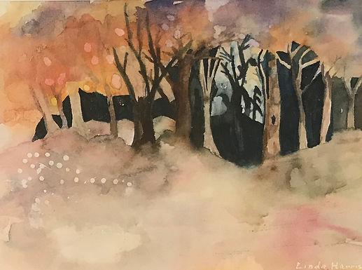 Mystical Forest by Linda Harris