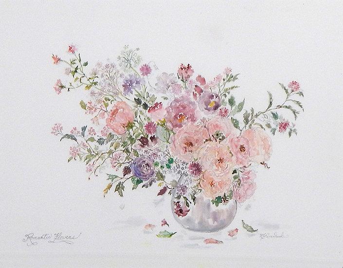 Romantic Flowers by Nancy Levandowsk