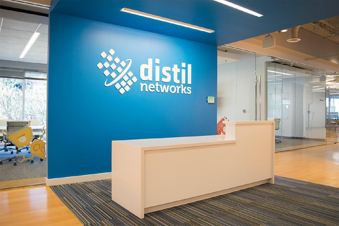 distil networks Reception