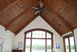 Exposed Beams with T&G