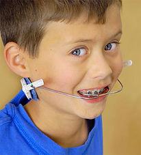 Orthodontist Braces Early Kids Headgear