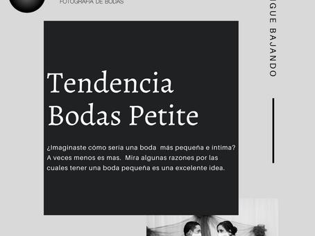 Tendencia Bodas Petite