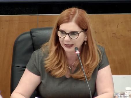 Expone Presidenta de la AMCEE Miriam Hinojosa Dieck en Foro para la Reforma Electoral