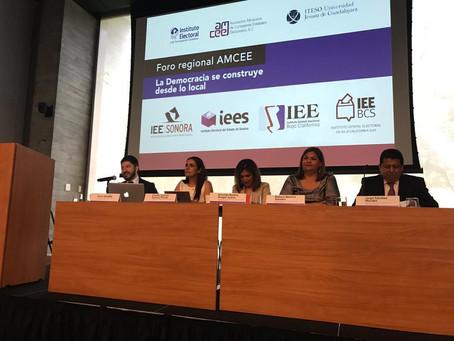 Realiza AMCEE segundo Foro Regional en Guadalajara, Jalisco