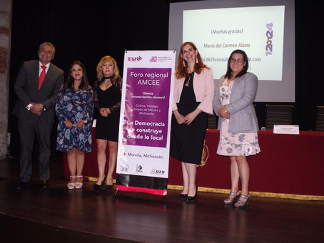 Realiza AMCEE Tercer Foro Regional en Morelia, Michoacán