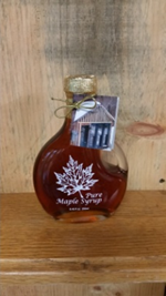 Maple Leaf Glass Containter