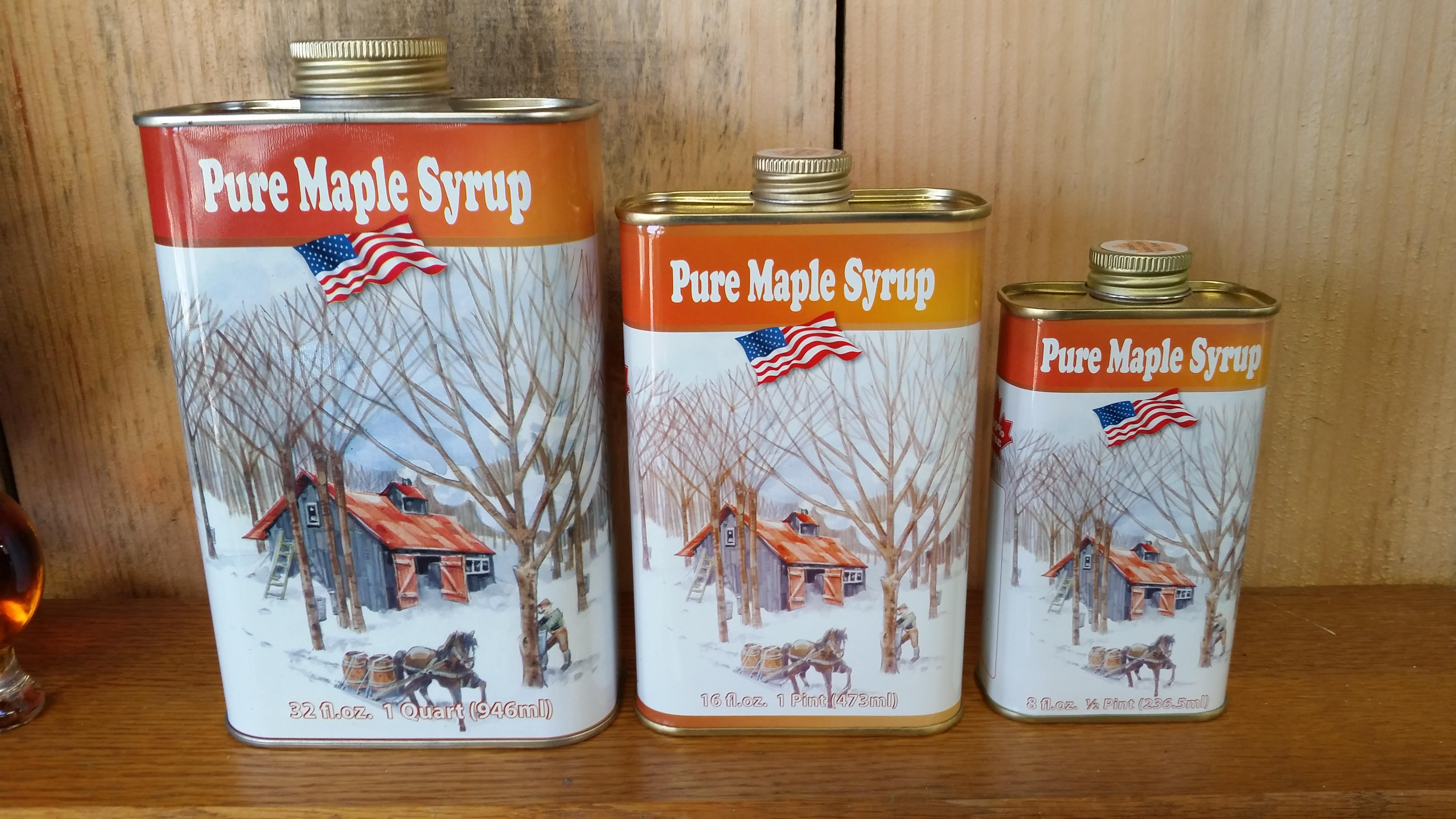 Nostalgic Maple tins