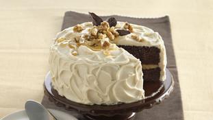 Maple-Walnut Chocolate Cake
