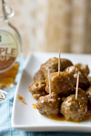 Goosebrook Meadows Maple BBQ Meatballs