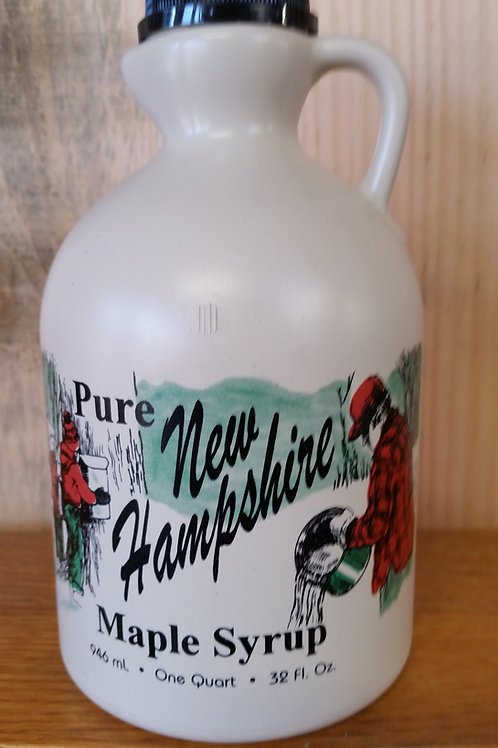 1/2 Pint - 100% Pure NH Maple Syrup in Plastic Jug