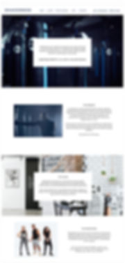Shadowbox Website design Annah Kessler