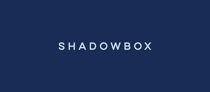 Shadowbox logo Annah Kessler design