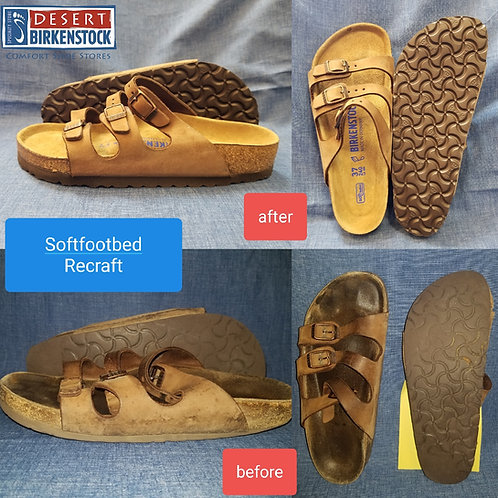 Birkenstock Recraft - Soft Footbed