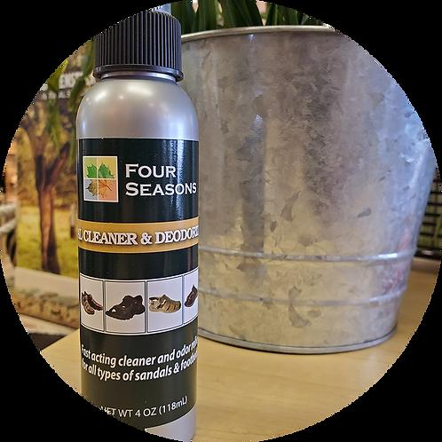 Footbed Cleaner & Deodorizer