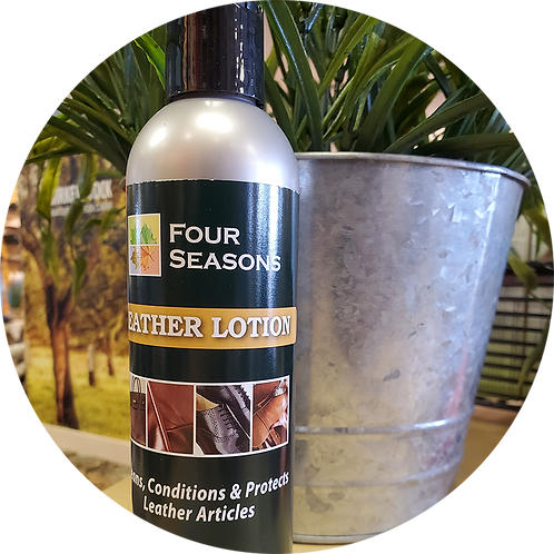 Four Seasons Leather Lotion