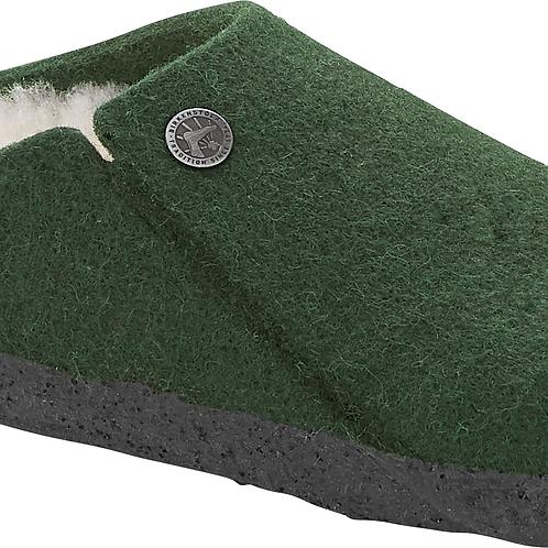 Birkenstock Zermatt Dark Green Wool Felt