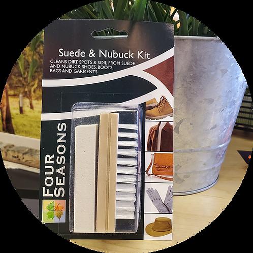 Nubuck Block & Suede Brush