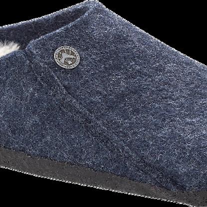 Birkenstock Zermatt Dark Blue Wool Felt