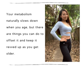 Does your metabolism really slow down as you age?