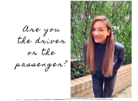 Are you the driver or the passenger?