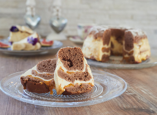 WHOLE GRAIN BUNDT CAKE WITH CURD