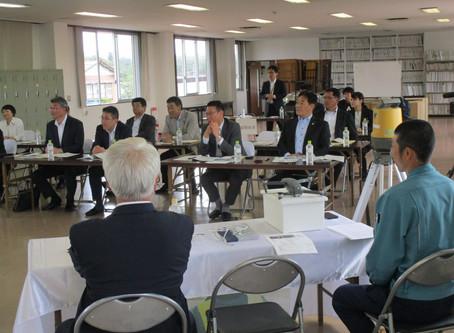 岩手県議会働き方改革委員会から先進企業視察を受けました。
