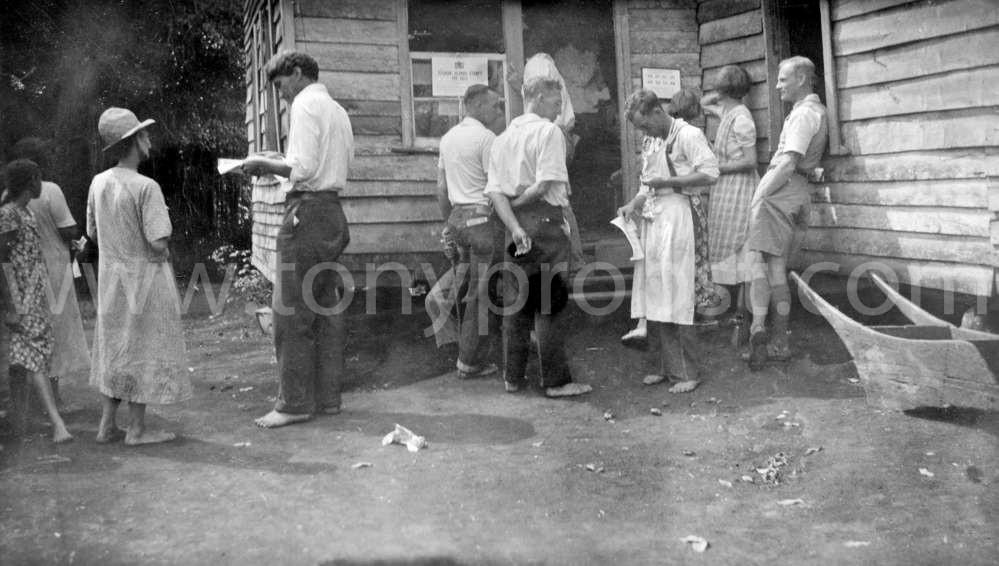 1940 15 October Ethel Christian, Fred Christian