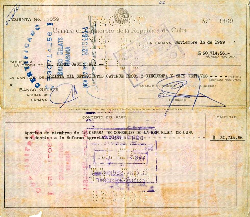 1959 Nov 13 Fidel Castro