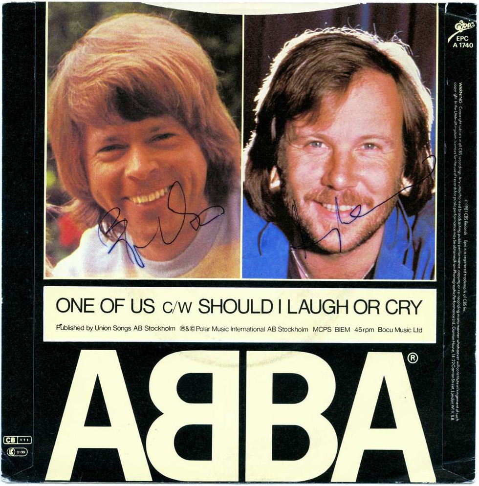 1982 April, ABBA Björn, Benny