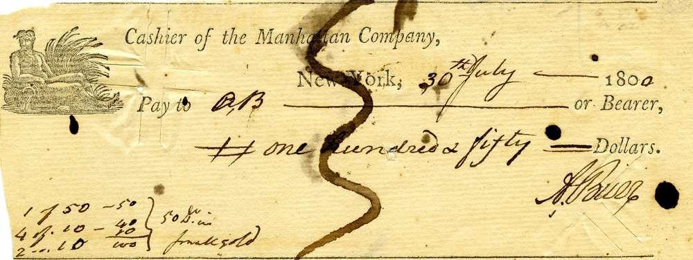 1800 July 30, Aaron Burr