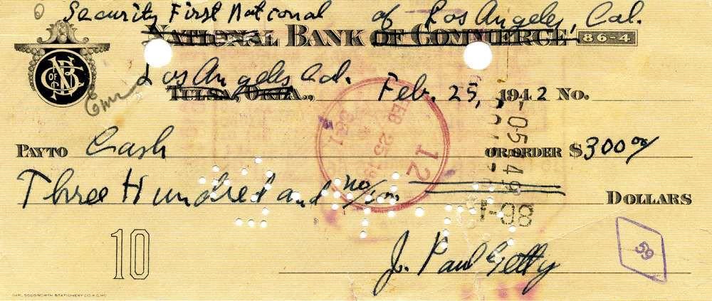 1942 Feb 25, John Paul Getty