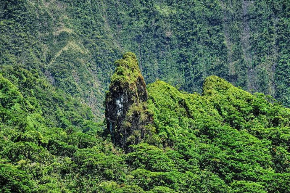 Veiw from Hotel Relais de Maroto, Tahiti
