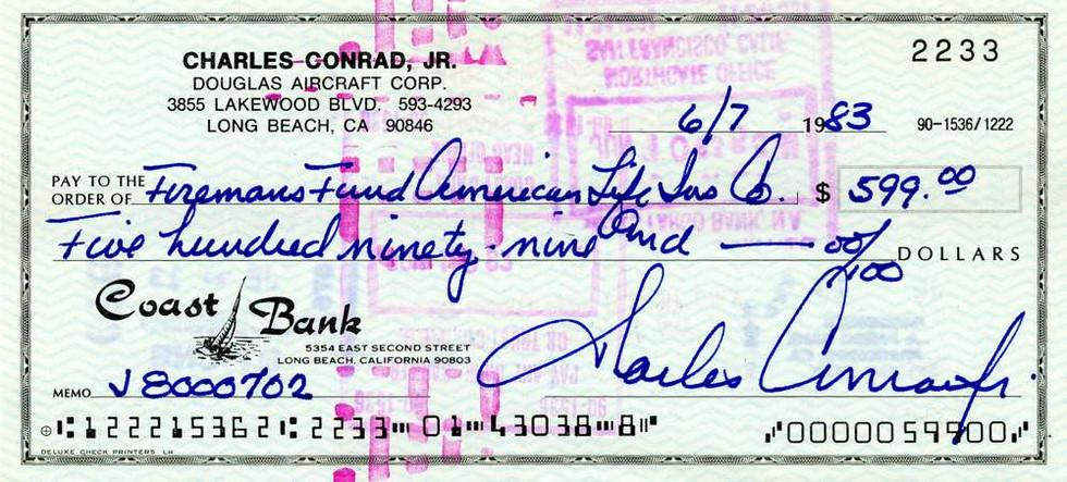 1983 June 7, Pete Conrad