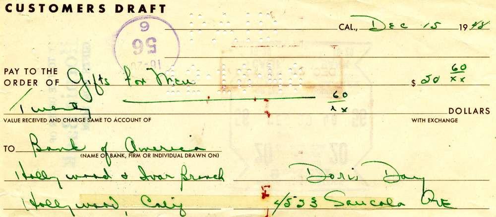 1948 Dec 15, Doris Day