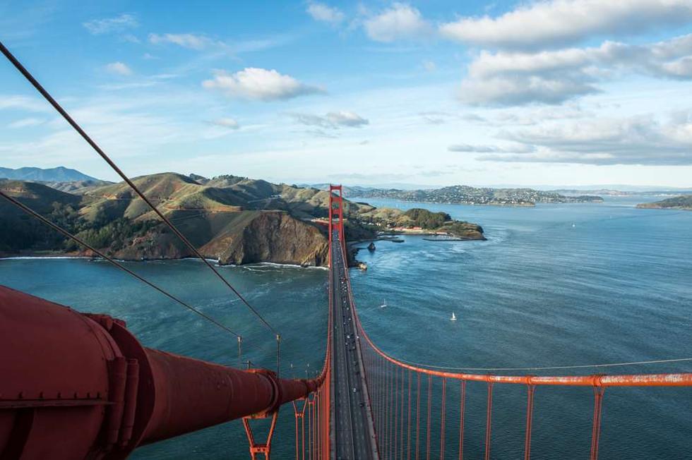 Cables of the Golden Gate Bridge