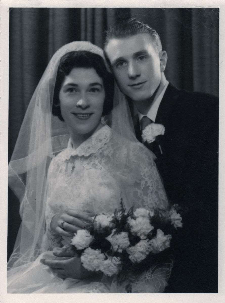 My parents Andreas & Jean Probst on their wedding day in 1958