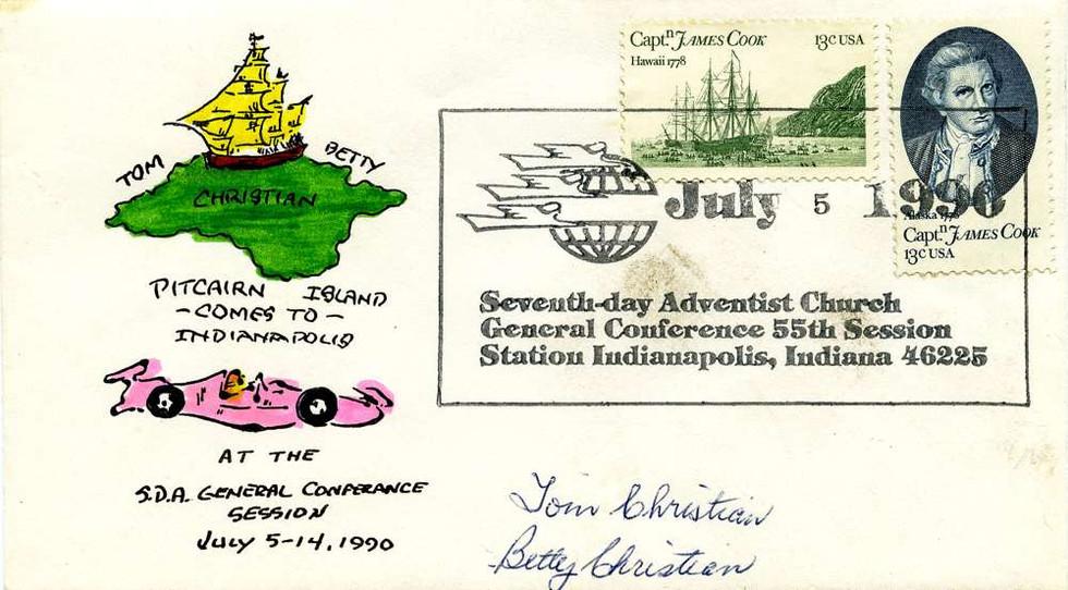 1990 July 5, Tom & Betty Christian