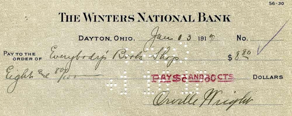 1912 Jan 13, Orville Wright