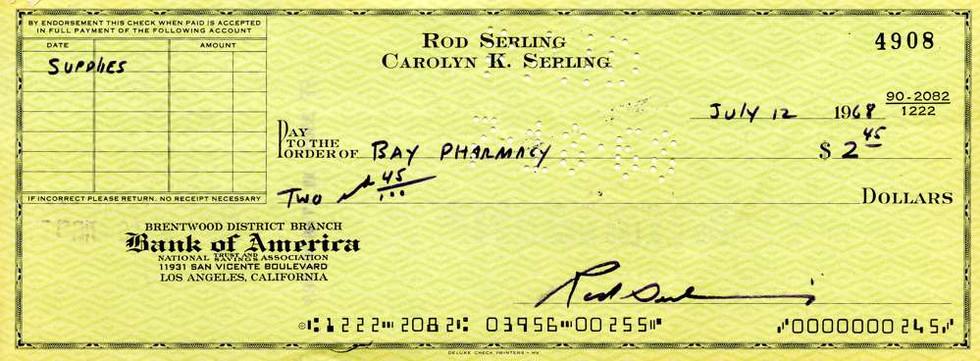 1968 July 12, Rod Serling
